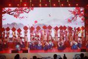 """第三届""""全球华人少年书法大会""""颁奖典礼举行书法新星10强、100强、500强、网络人气3强等受到表彰"""