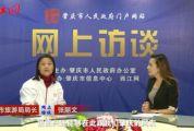 网上访谈肇庆市旅游局局长张丽文