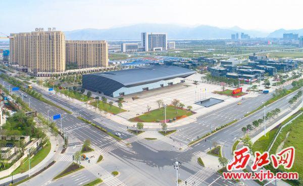 新区科技创新中心。