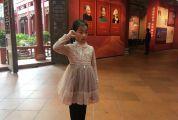 市博物馆小小讲解员招雅雯 热情向游客宣传肇庆历史文化