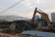端州再清拆五处违法建筑 位于七星二路,面积超2000平方米