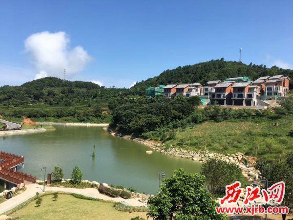 新兴象窝酒店一景。 西江日报记者 杨丽娟 摄