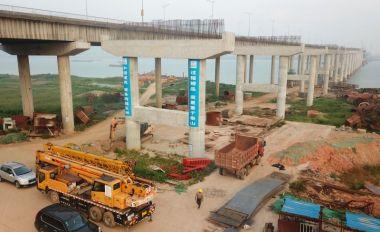 APP自助领取彩金38大桥扩建工程抓紧施工