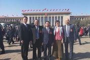 十三届全国人大二次会议在北京开幕 我市全国人大代表满怀欣喜和激动 聚焦经济和民生