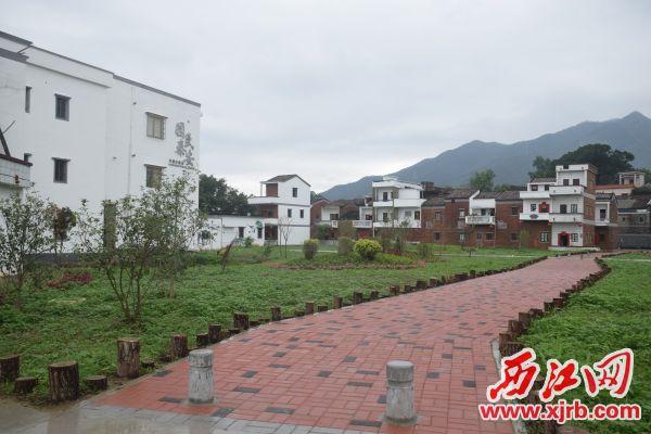 铁岗社区经过创建,成为高要区乡村振兴示范点。西江日报记者 陈松连 摄