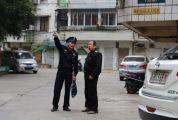 第四届肇庆市道德模范提名奖获得者黄优访 用脚步丈量社区 用手机联络民情
