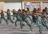肇慶市端州青少年軍校特色課程鍛造學生軍事素養