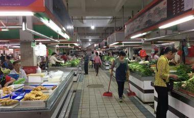 鼎湖廣利農貿市場創文管理常態化