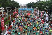 时代中国·2019肇庆国际马拉松开跑 2万多名跑手激情奔跑燃爆全城