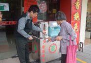 端州退伍軍人邱衛東 為街坊提供免費茶水13年