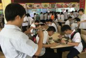校领导陪餐制在肇庆落实情况较好 全市现有864间中小学、幼儿园实施这一制度