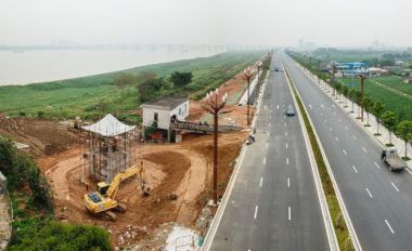 清河滩建水闸 确保防汛安全