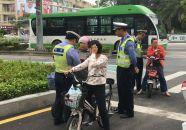 肇庆市专项整治电动车交通违法行为