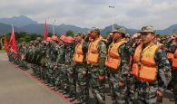 鼎湖区举行民兵应急 力量授旗命名大会