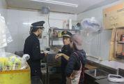 端州城管夜查餐饮店油烟排放 截至目前已摸查1000余家餐饮店铺