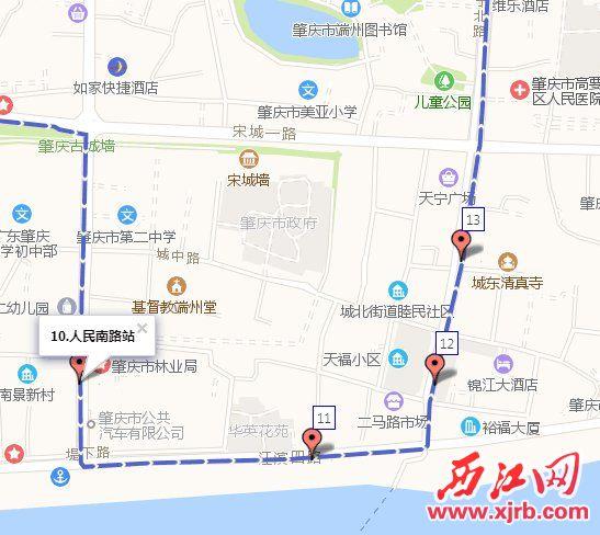 1路线恢复原路线行驶路线图。
