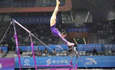 全国体操锦标赛进入第二日