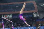 全国体操锦标赛 广东队女团卫冕 刘婷婷全能封后