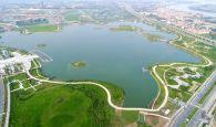 """新区""""绿色明珠""""砚阳湖将完工"""