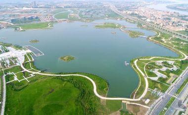 """王者28新区""""绿色明珠""""砚阳湖将完工"""