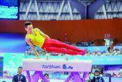 国际体联体操世界杯挑战赛 中国队包揽首日五金
