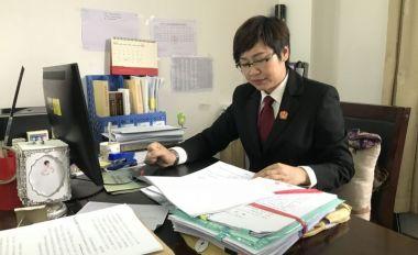广宁法院女法官陈金珠伏枥基层二十余载