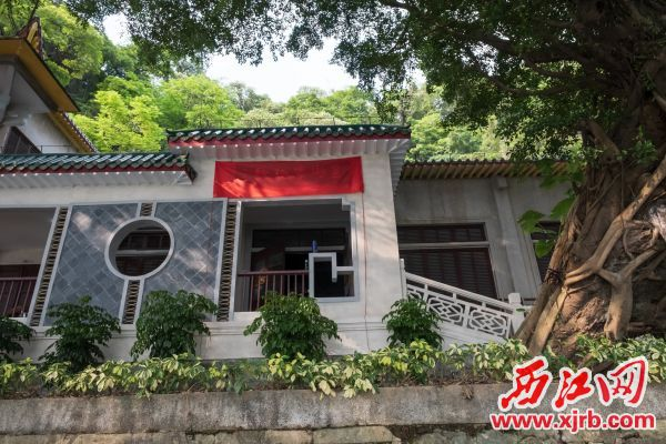 星湖博物馆即将对外开放。 西江日报记者 吴勇强 摄