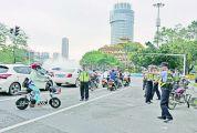 肇庆市开展摩托车非机动车专项整治行动 非机动车违规行驶???0元