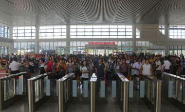 端午假期APP自助领取彩金38火车站发送旅客超2万人次
