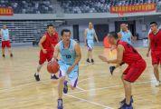 全国城市中老年人篮球赛在肇开赛