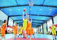 全国城市中老年人篮球赛在肇落幕