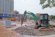 端州本月完成10个街头小景建设 市一医院东侧生态停车场、聚贤路小公园等正抓紧建设