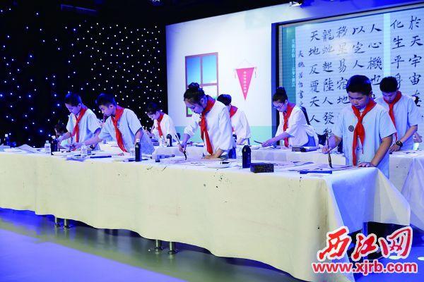 上一屆的各地優秀選手代表齊聚北京。