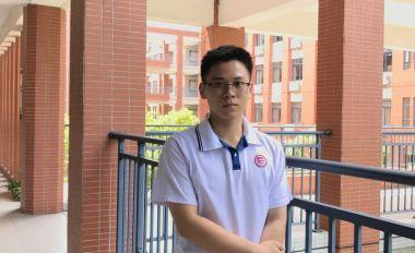 最美肇庆少年:肇庆市第一中学高二级学生谢新源