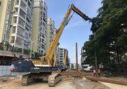 塔东一路预计10月底实现功能性通车