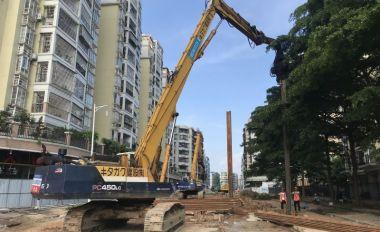 塔東一路預計10月底實現功能性通車