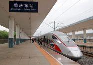 日报记者体验首趟肇庆直达香港高铁