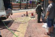 端州东宝园餐饮店被责令停业整改  因排污导致下水道多次堵塞 引发居民不满