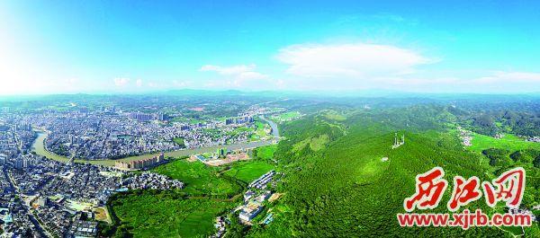 怀集县城一景。