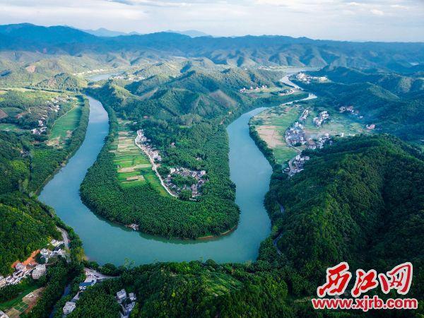 大洲东畔村。
