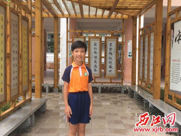 陈颂仁。 西江日报记者 赖小琴 摄