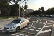 星湖大道新增右转专用道 改善信星花坛右转古塔北路(西往东方向)交通拥堵状况