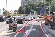 车主注意!端州城区这个路口新增专用转弯车道!