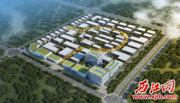 总投资35亿元的中南高科·肇庆端州双龙科创产业谷项目今年5月底动工,成为产业强区重要引擎。