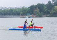 省青少年皮划艇(静水)锦标赛开赛
