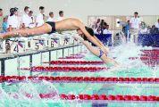 省青少年游泳锦标赛在肇开赛 15个城市950名运动员展开角逐