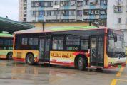 """10辆""""红色公交"""" 城区投用"""