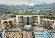 中山大學附屬第三醫院肇慶醫院主體工程完工