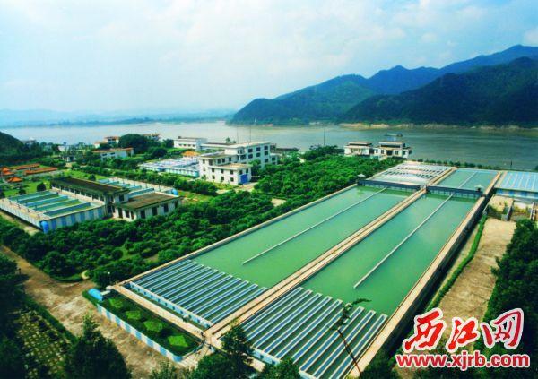 图为三榕水厂全景。 通讯员供图