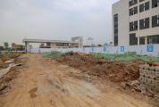 记者暗访新世纪娱乐:高新区工地 多处工地项目扬尘管控不到位